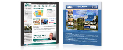 Real Estate Website Agent123 Lite MLS Combo