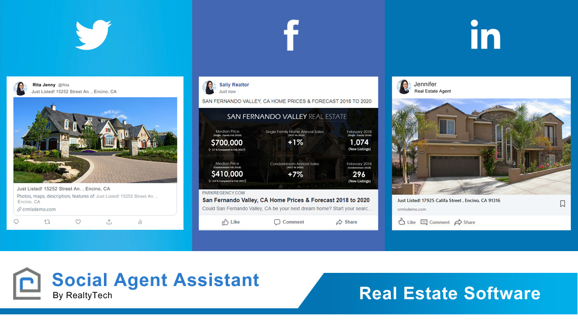 New Social Agent Assistant Real Estate Software – SRAR Expo June 11 2019