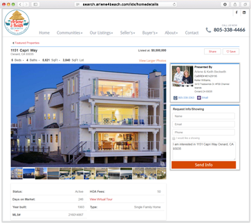 Idx Solutions for Real Estate Team Website
