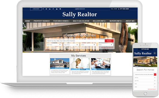 Best Real Estate Agent Websites with Integrated IDX Home Search