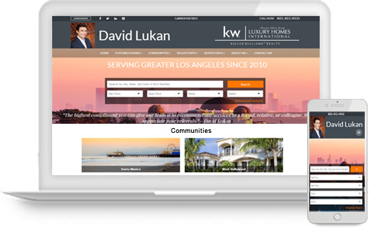 IDX Real Estate Agent Website