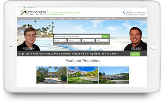 Real Estate Team Websites With IDX