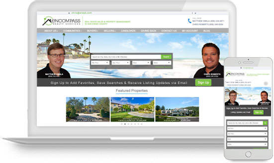Real Estate Team Website with Idx Solutions
