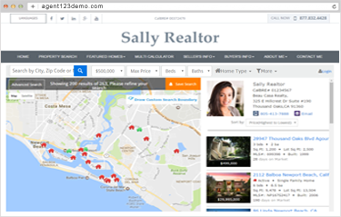 Real Estate Websites for Agents with IDX Home Search