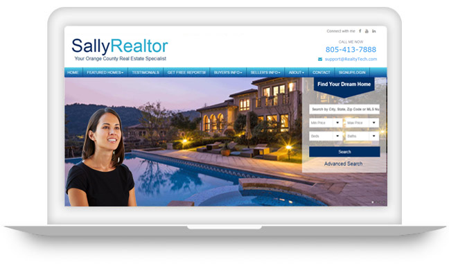 Real Estate Agent Websites with IDX Solutions