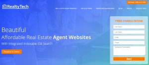 RealtyTech Inc's CEO Richard Uzelac, Announces New Agent Website Back-end Functionality and Experience with Drag and Drop Widgets