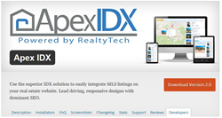 RealtyTech ApexIDX 2.0, now with Automated Google Sitemaps